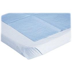 "Medline Stretcher Sheet, Disposable, 40""x72"", 50/BX, Blue"