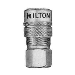 Milton 1/4in. Female M Style Coupler