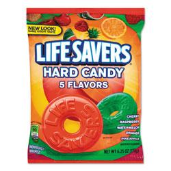 Marjack 5 Flavors Hard Candy Bag, 6.25 ounce