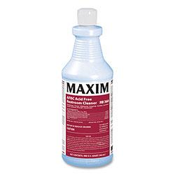 Maxim AFBC Acid Free Restroom Cleaner, Fresh Scent, 32 oz Bottle, 12/Carton