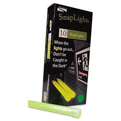 Miller's Creek Snaplights, 6 inl x 3/4 inw, Green, 10/Box