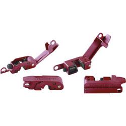 Master Lock Company Circuit Breaker Lockout Set, 120/240Volt, Red