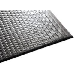 Millennium Mat Company Air Step Antifatigue Mat, Polypropylene, 36 x 144, Black