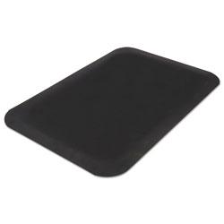 Guardian Pro Top Anti-Fatigue Mat, PVC Foam/Solid PVC, 36 x 60, Black