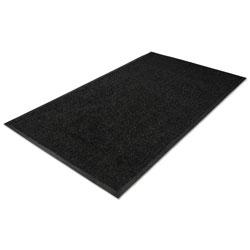 Millennium Mat Company Platinum Series Indoor Wiper Mat, Nylon/Polypropylene, 48 x 72, Black