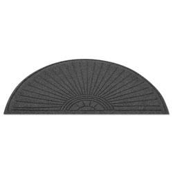Guardian EcoGuard Diamond Floor Mat, Fan Only, 24 x 48, Charcoal