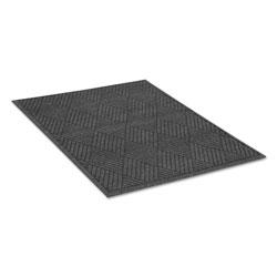 Guardian EcoGuard Diamond Floor Mat, Rectangular, 36 x 60 Charcoal