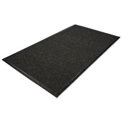 Millennium Mat Company WaterGuard Wiper Scraper Indoor Mat, 36 x 60, Charcoal