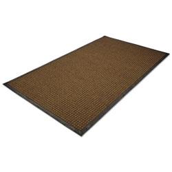 Millennium Mat Company WaterGuard Indoor/Outdoor Scraper Mat, 36 x 120, Brown