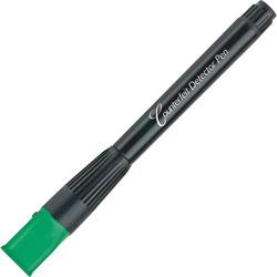 MMF Industries Counterfeit Detector Pen, w/UV Light Cap, Black