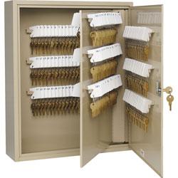 "MMF Industries Key Cabinet, 240 Key Capacity, 16 1/2""x4 7/8""x20 1/8"", SD"