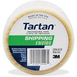 "Tartan™ General Purpost Packaging Tape, 2"" x 55 Yards, 3 in Core"
