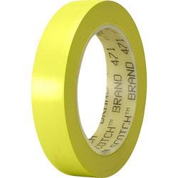 "3M Marking Tape, Vinyl, 1"" x 36Yds, Yellow"