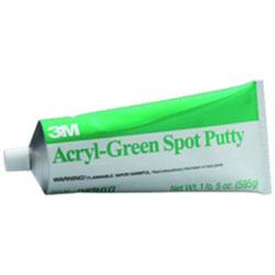 3M Acryl-Green Spot Putty 14.5Oz Tube