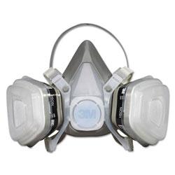 3M Dual Cartridge Respirator Assembly 52P71, Organic Vapor/P95, Medium