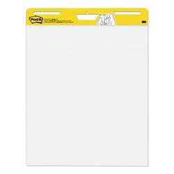 Post-it® Self-Stick Easel Pads, 25 x 30, White, 30 Sheets, 2/Carton