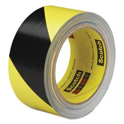 3M Caution Stripe Tape, 2w x 108 ft Roll