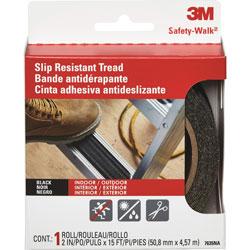 "3M Safety Walk Step & Ladder Tread Tape, 2""x180"", Black"