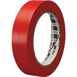 3M General Purpose Vinyl Tape 764, Red