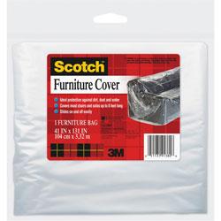 "3M Heavy Duty Sofa Cover, 41"" x 131"""