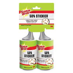 Scotch Brite® Lint Roller, 2/Pack