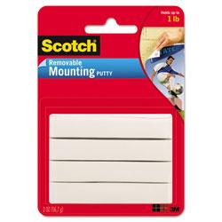 Scotch™ Adhesive Putty, Nontoxic, 2 oz
