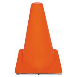 3M Non-Reflective Safety Cone, 9 x 9 x 12, Orange