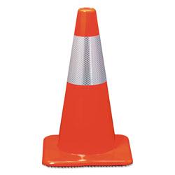 3M Reflective Safety Cone, 11 1/2 x 11 1/2 x 18, Orange
