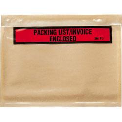3M Top Print Packing List Envelope, 7 x 5 1/2, White, 1000/Carton