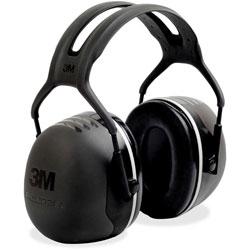 3M Earmuff Headband, Peltor X5, 31dB NRR, Black