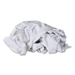Monarch Cotton Wipers, White, 50/Carton