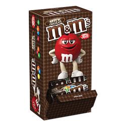 M & M's Chocolate Candies, Milk Chocolate, Individually Wrapped, 1.69 oz, 36/Box