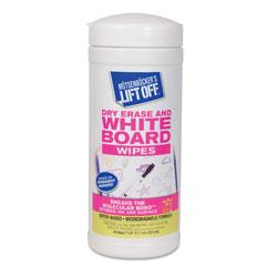 Motsenbocker's Lift-Off® Dry Erase Cleaner Wipes, 7 x 12, 40/Canister