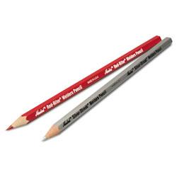 Markal Red-Riter Woodcase Welder's Pencil, Dozen