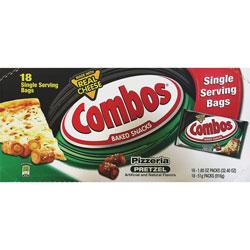 Combos Flavia Baked Pretzel Snacks, 1.8 oz, 18/BX