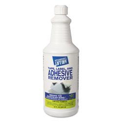 Motsenbocker's Lift-Off® Tape, Label and Adhesive Remover, 32oz, Pour Bottle, 6/Carton