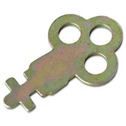 San Jamar Key for Metal Toilet Tissue Dispensers: T800, T1905, T1900, T1950, T1800, R1500