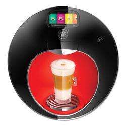 Nestle Majesto Automatic Coffee Machine, Black/Red