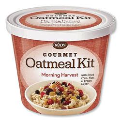 N'Joy Gourmet Oatmeal Kit, Morning Burst, 3.42 oz Cup, 8/Carton