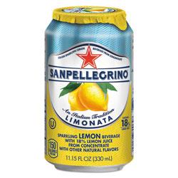 Nestle Sparkling Fruit Beverages, Limonata (Lemon), 11.15 oz Can, 12/Carton