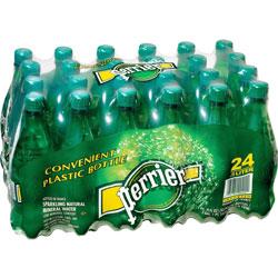Nestle Mineral Water, 24 x .5 Liter, Portable, Plastic Bottles, Green