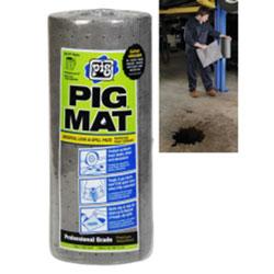 PIG® Universal Light-Weight Absorbent Mat Roll - 15 in x 50' (60 Pads per Roll)