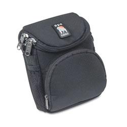 Norazza Camcorder/Digital Camera Case, Ballistic Nylon, 5 x 2 x 4 1/2, Black