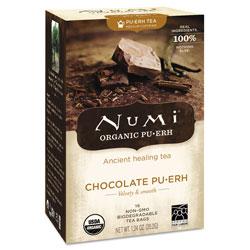 Numi Organic Tea, Chocolate Puerh, 16/Box