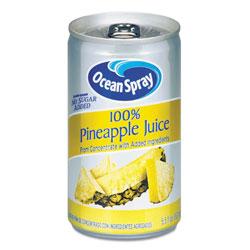 Ocean Spray 100% Juice, Pineapple, 5.5 oz Can