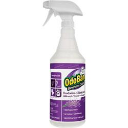 OdoBan® Deodorizer/Disinfectant Spray, 32oz., Lavender, PE