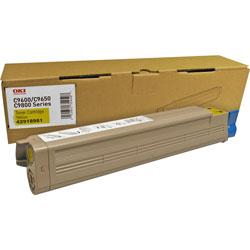 Okidata 42918981 Laser Cartridge, Yellow