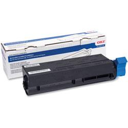 Okidata High Yield Toner Cartridge for B412/512, 12, 000 Page Yield, BK