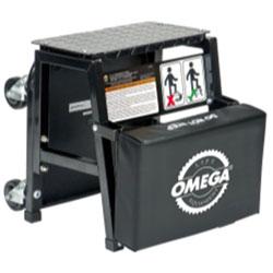 Omega 2-n-1 Mechanics Creeper Seat/Step Stool
