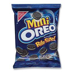 Nabisco Oreo Minis - Single Serve, 1.75 oz Packets, 60/Carton
